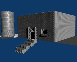 Brick House -WIP- by Drachis