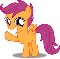 Vector #320 - Scootaloo #5 by DashieSparkle