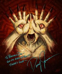 Pale Man, signed by Doug Jones by ZacPensol