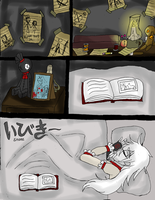 Slender Diaries Comic: Chpt 1: Page 1 by InvaderIka