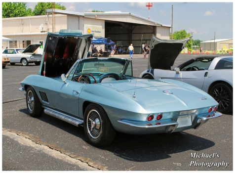 A 1967 Chevy Corvette Convertible by TheMan268