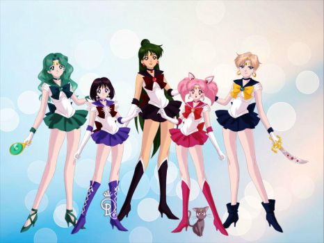 Outer Senshi (Originals) by doll-joy