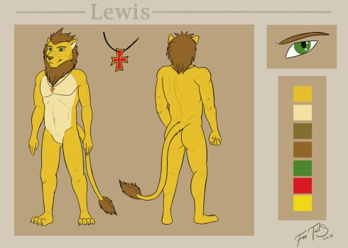 Lewis reference sheet by FoxTailsGua