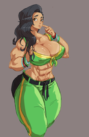 Laura doodle by Superkenomatic