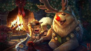 Gift Wrapped Fortress-Vainglory by Noxiihunter