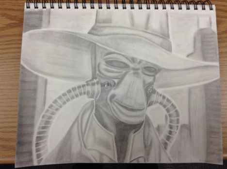 Star Wars - Cad Bane by JCecalaIV