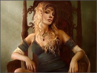 Cersei Seated by jezebel