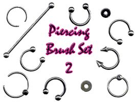 Piercing Brush Set 2 by LaurenW24