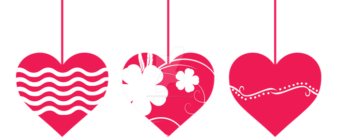 Hearts Png by gelstockimages