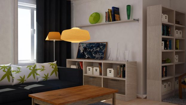 The Living Room by ShannShah