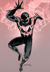 Spiderman2099 by ch-peralta