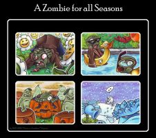 A Zombie for all Seasons by BloodhoundOmega
