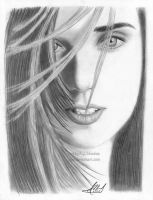 Jennifer Connelly Portrait by AJpr