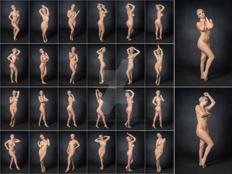 Stock: Emmy Blonde Nude Standing - 26 Images by stockphotosource