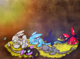 They've hatched!!! by Skyler-The-Nightfury