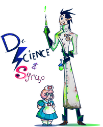 Dr Science and Syrup by vilovine