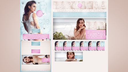 Ordered design (ultimate-lilycollins.blog.cz) #3 by dailysmiley