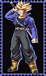 DBFZ Future Trunks Stamp by WOLFBLADE111