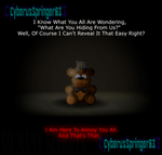 The Real Purpose Of The Freddy Plush. (Edit) by CyberusSpringer03