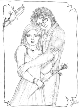 Lily and James - the rose by pottering