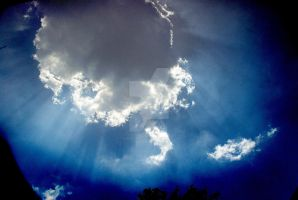 Sun Behind the Clouds by TOMMYoRAFAEL