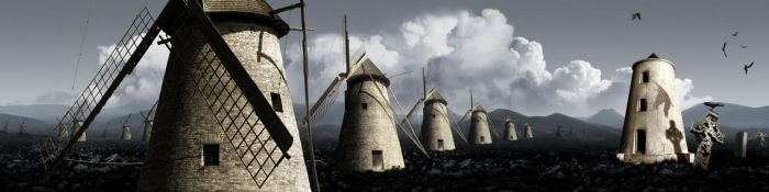 Don Quijote Molinos by Stratisk