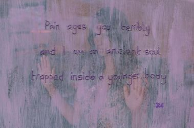 Pain ages you by Arieegreen