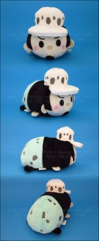 Stacking Plush: Small Law - One Piece by Serenity-Sama