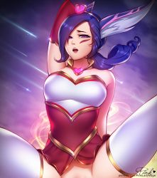 Sweetheart Xayah by PinkLadyMage