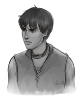 Gendry sketch by kimpertinent