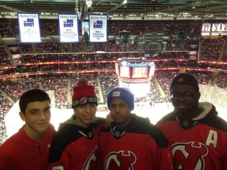 At the Devils game (2013 ID) by DevilGator17