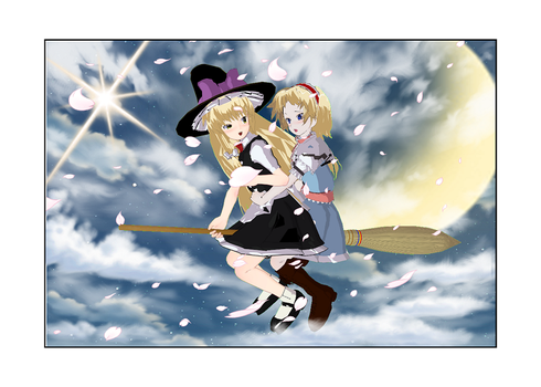 Magical Broom Ride by mandygirl78