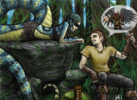 Stories for a Slithery lady by CrimsonRed-and-Feral