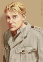 Peter O'Toole by cyen