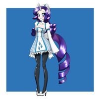 Fantasy RPG: Rarity DONE by HotokoTenshi