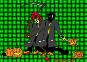 Happy Halloween Every one by darkness-angel