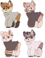 Doggo adoptables [closed] by VeraSimbAdopts