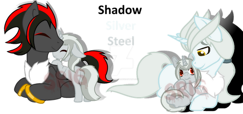 Shadilver's Family2 by SuperRosey16