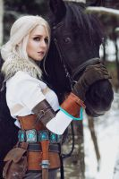 The Witcher 3: Wild Hunt - Ciri cosplay by ver1sa
