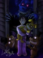 Five Nights At Freddy's 4 fanart by LadyFiszi