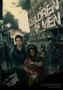 CHILDREN OF MEN by RUIZBURGOS