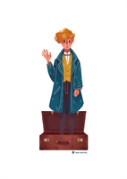 Fantastic Beasts and Where to Find Them by Jimmy-ilustra