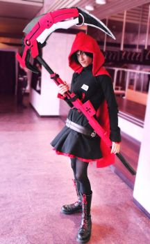 Ruby rose RWBY cosplay by Infera1