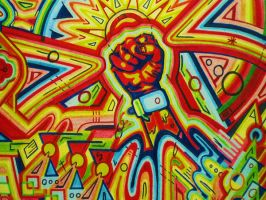 FIGHT THE POWER 2 by L-A-K-ART