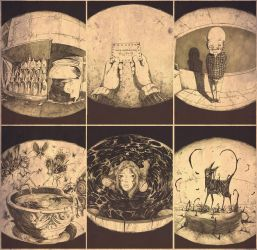 Ilustations for Fablehaven II by transbonja