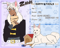 happy-tails || zaine by JaziLeighz