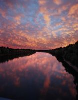 New England Sunset 1 by opticverve
