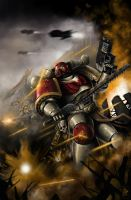 Storm Giants Space Marines by Filip-Hammer
