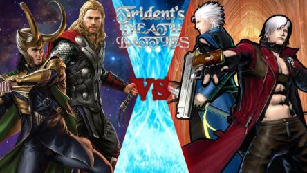 Thor and Loki vs Dante and Vergil by Trident346