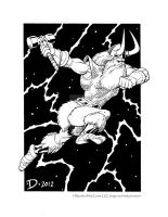 Thor, God of Thunder by JeffDee